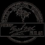 Roboty logo czarnobiałe